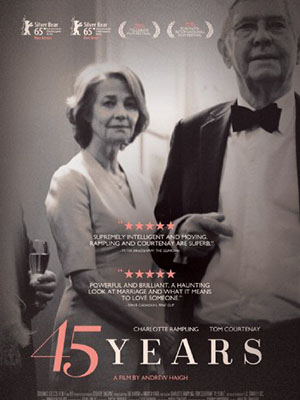 45 Năm 45 Years.Diễn Viên: Charlotte Rampling,Tom Courtenay,Geraldine James