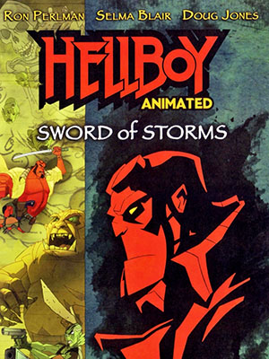 Qủy Đỏ - Hellboy Animated Sword Of Storms