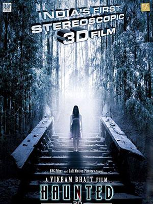 Bức Tranh Bí Ẩn Haunted 3D.Diễn Viên: Tia Bajpai,Krishna Bhatt,Mimoh Chakraborty,Nikita Janjani,Mohan Kapoor,Achint Kaur