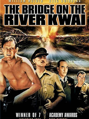 Cầu Sông Kwai The Bridge On The River Kwai.Diễn Viên: William Holden,Alec Guinness,Jack Hawkins,Sessue Hayakawa,James Donald,Geoffrey Horne,André Morell