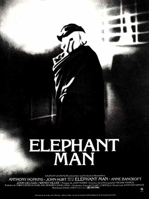Người Voi The Elephant Man.Diễn Viên: Anthony Hopkins,John Hurt,Anne Bancroft,John Gielgud,Wendy Hiller,Freddie Jones,Michael Elphick