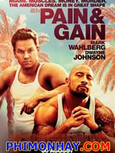 Có Chơi Có Nhận Pain And Gain.Diễn Viên: Mark Wahlberg,Dwayne Johnson,Anthony Mackie,Ed Harris,Ken Jeong,Tony