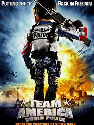 Biệt Đội Mỹ Team America: World Police.Diễn Viên: Trey Parker,Matt Stone,Kristen Miller,Masasa Moyo,Daran Norris,Phil Hendrie,Maurice Lamarche