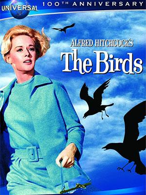 Bầy Chim Dữ The Birds.Diễn Viên: Tippi Hedren,Suzanne Pleshette,Rod Taylor,Jessica Tandy