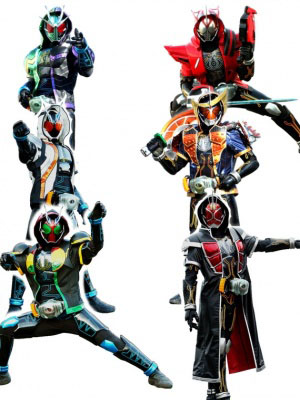 Ghosts Gaim Damashii - Kamen Rider Ghost: Legendary! Riders Souls!