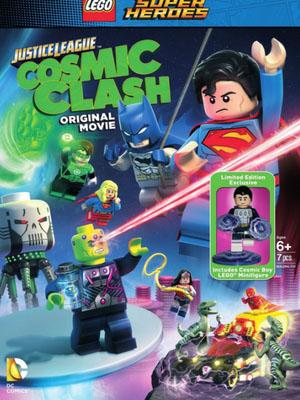 Liên Minh Công Lý: Cỗ Máy Brainiac Lego Dc Comics Super Heroes: Justice League Cosmic Clash.Diễn Viên: Troy Baker,Nolan North,Grey Griffin,Kari Wahlgren