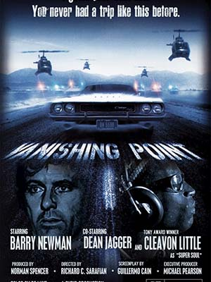 Điểm Tan Biến Vanishing Point.Diễn Viên: Barry Newman,Cleavon Little,Dean Jagger