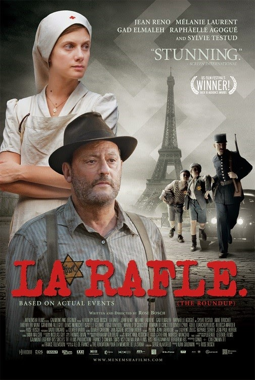 Đế Chế Tàn Bạo La Rafle.Diễn Viên: Jean Reno,Mélanie Laurent,Gad Elmaleh,Raphaëlle Agogué