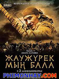 Cuộc Chiến Trên Thảo Nguyên Myn Bala: Warriors Of The Steppe.Diễn Viên: Kuralay Anarbekova,Aliya Anuarbek,Aliya Telebarisova