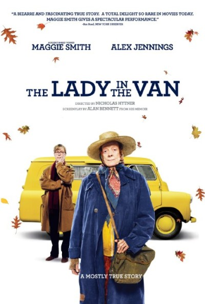 Cụ Bà Trên Xe Thùng The Lady In The Van.Diễn Viên: Maggie Smith,James Corden,Dominic Cooper
