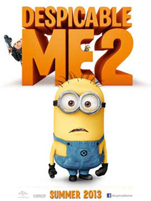 Kẻ Cắp Mặt Trăng 2 Despicable Me 2.Diễn Viên: Steve Carell,Kristen Wiig,Benjamin Bratt