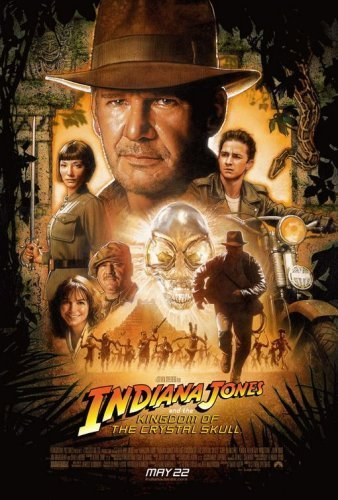 Indiana Jones Và Vương Quốc Sọ Người Indiana Jones And The Kingdom Of The Crystal Skull.Diễn Viên: Harrison Ford,Cate Blanchett,Shia Labeouf