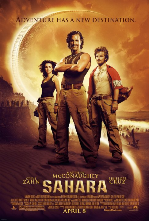 Cuộc Chiến Trên Sa Mạc Sahara.Diễn Viên: Matthew Mcconaughey,Steve Zahn,Penelope Cruz