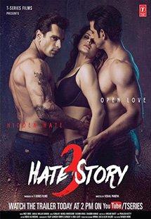 Người Tình Nguy Hiểm 3 Hate Story 3.Diễn Viên: Sharman Joshi,Zarine Khan,Karan Singh Grover,Daisy Shah,Priyanshu Chatterjee