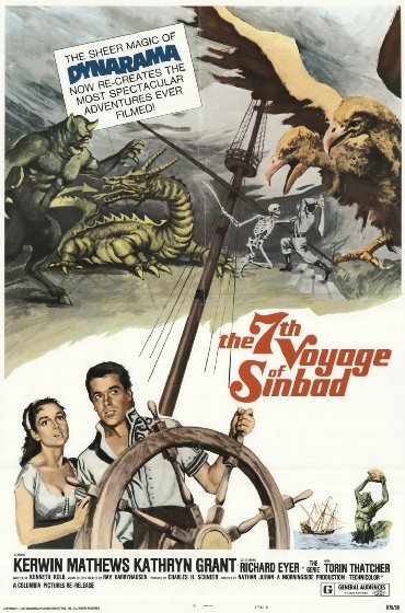 Cuộc Phiêu Lưu Thứ 7 Của Sinbad The 7Th Voyage Of Sinbad.Diễn Viên: Kerwin Mathews,Kathryn Grant,Richard Eyer