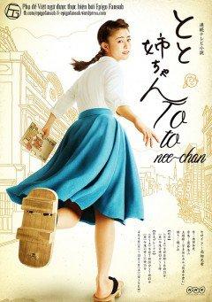 Chị Gái Làm Bố Toto Nee-Chan.Diễn Viên: Hidetoshi Nishijima,Mitsuki Takahata,Tae Kimura,Itsuki Sagara