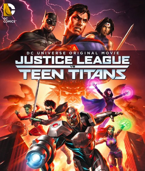 Liên Minh Công Lý Đấu Với Nhóm Teen Titans - Justice League Vs Teen Titans
