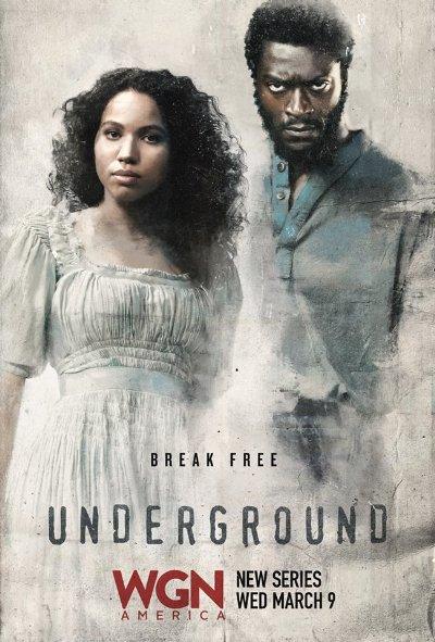 Thế Giới Ngầm Phần 1 Underground Season 1.Diễn Viên: Jurnee Smollett,Bell,Aldis Hodge,Renwick D Scott Ii
