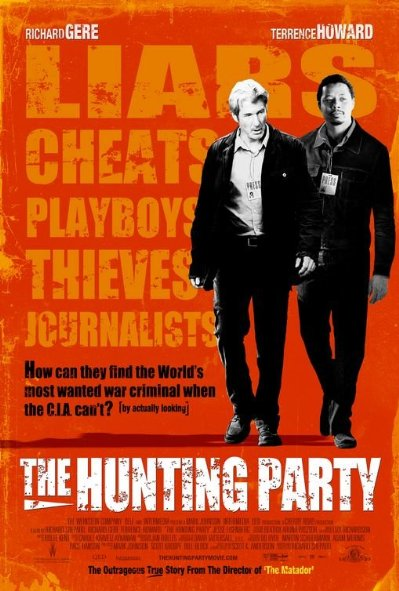 Săn Đuổi Mục Tiêu The Hunting Party.Diễn Viên: Richard Gere,Terrence Howard,Jesse Eisenberg,James Brolin,Sanela Seferagic,Damir Saban