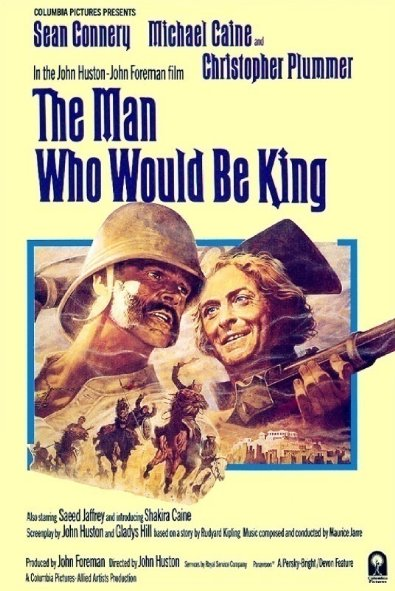 Vua Xứ Mù The Man Who Would Be King.Diễn Viên: Sean Connery,Michael Caine,Christopher Plummer