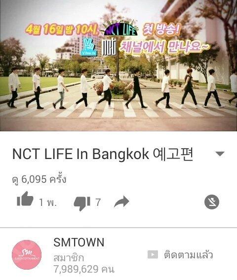 Show Truyền Hình Hàn Quốc - Nct Life In Bangkok