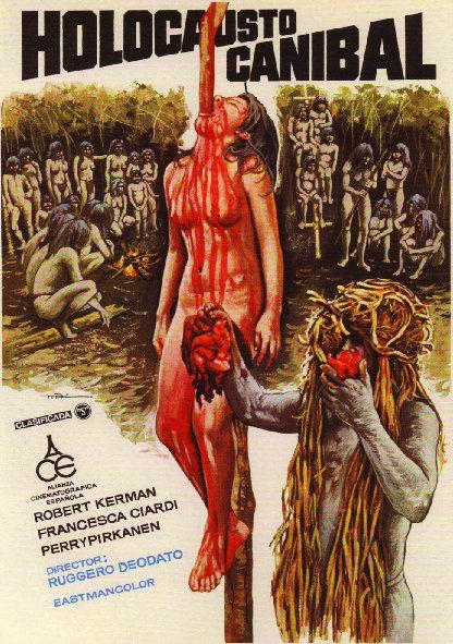 Bộ Tộc Ăn Thịt Người Cannibal Holocaust.Diễn Viên: Robert Kerman,Francesca Ciardi,Perry Pirkanen
