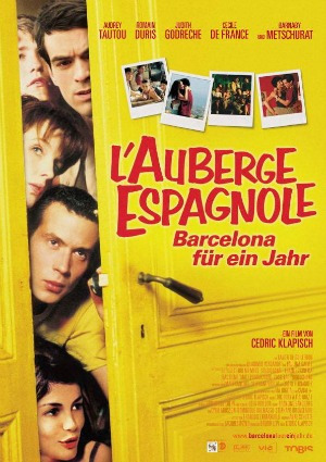 Căn Hộ Ở Barcelona The Spanish Apartment.Diễn Viên: Romain Duris,Judith Godrèche,Kelly Reilly