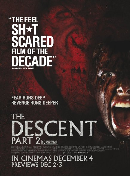 Quái Vật Dưới Hang 2 The Descent: Part 2.Diễn Viên: Nora,Jane Noon,Shauna Macdonald,Natalie Mendoza,Alex Reid