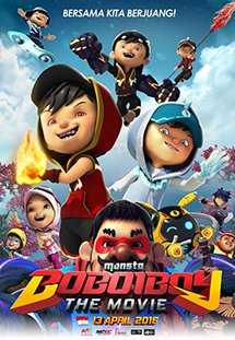 Boboiboy Phiêu Lưu Ký Boboiboy The Movie.Diễn Viên: Anas Abdul Aziz,Nur Sarah Alisya,Mohd Fathi Diaz
