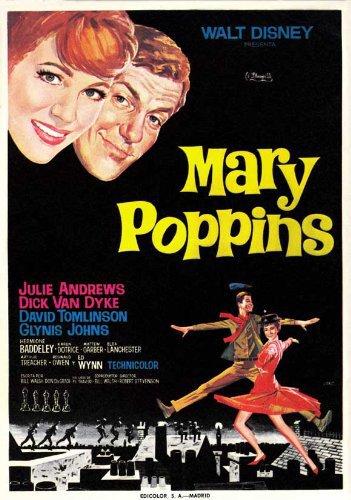 Cuộc Giải Cứu Thần Kỳ Mary Poppins.Diễn Viên: Julie Andrews,Dick Van Dyke,David Tomlinson