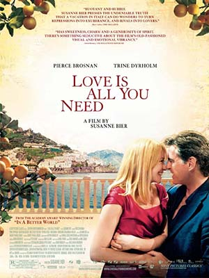Tình Yêu Là Tất Cả Love Is All You Need.Diễn Viên: Pierce Brosnan,Trine Dyrholm,Molly Blixt Egelind