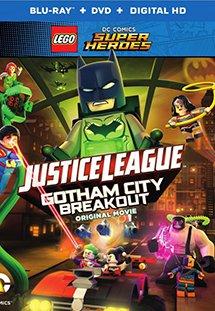 Liên Minh Công Lý Justice League: Đại Chiến Tại Gotham Lego Dc Comics Superheroes: Gotham City Breakout.Diễn Viên: Sarah Hyland,Troy Baker,Nolan North,Tara Strong
