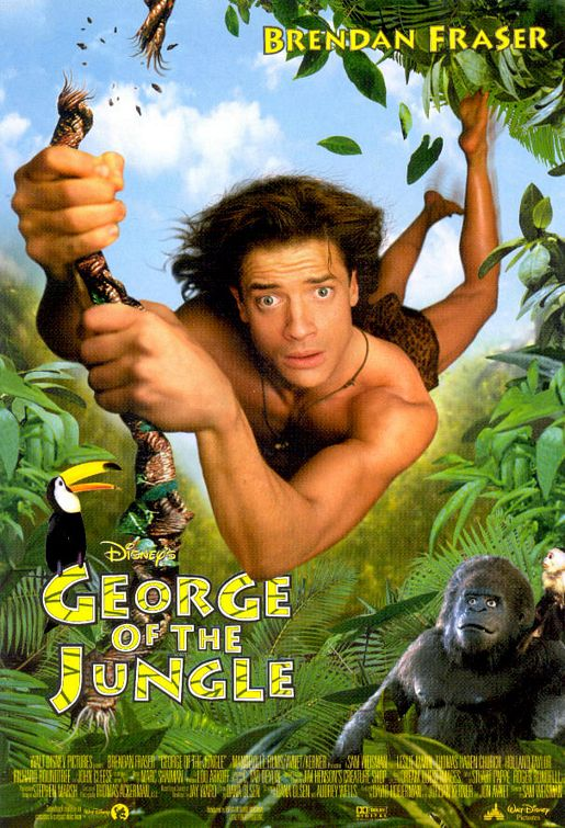 Chúa Tể Rừng Xanh George Of The Jungle.Diễn Viên: Brendan Fraser,Leslie Mann,Thomas Haden Church