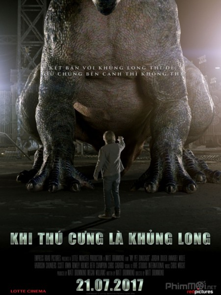 Khi Thú Cưng Là Khủng Long My Pet Dinosaur.Diễn Viên: Anas Abdul Aziz,Nur Sarah Alisya,Mohd Fathi Diaz