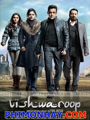 Đội Thám Tử Vishwaroopam.Diễn Viên: Kamal Hassan,Rahul Bose,Pooja Kumar