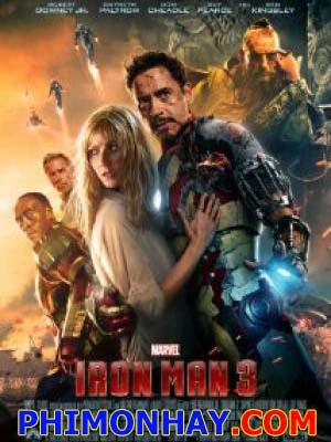 Người Sắt 3 Iron Man 3.Diễn Viên: Robert Downey Jr,Gwyneth Paltrow,Don Cheadle,