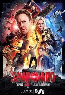 Cá Mập Cuồng Loạn 4 Sharknado 4: The 4Th Awakens.Diễn Viên: Ian Ziering,Tara Reid,Masiela Lusha,Cody Linley