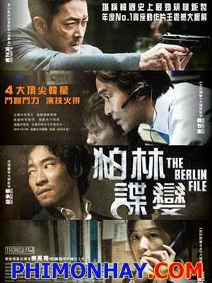 Hồ Sơ Berlin - The Berlin File Việt Sub (2013)