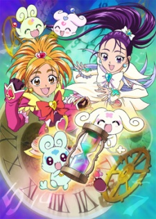 Futari Wa Precure: Splash☆Star Movie: Tick Tack Kiki Ippatsu - Pretty Cure Splash Star Tic-Tac Crisis Hanging By A Thin Thread