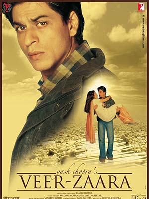 Chuyện Tình Vượt Biên Giới Veer Zaara.Diễn Viên: Shah Rukh Khan,Preity Zinta,Rani Mukerji