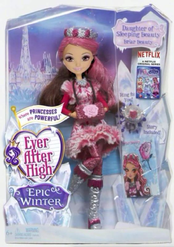 Ever After High Movie 5: Epic Winter Ever After High Special S7.Diễn Viên: Ginnifer Goodwin,Mae Whitman,Rosario Dawson