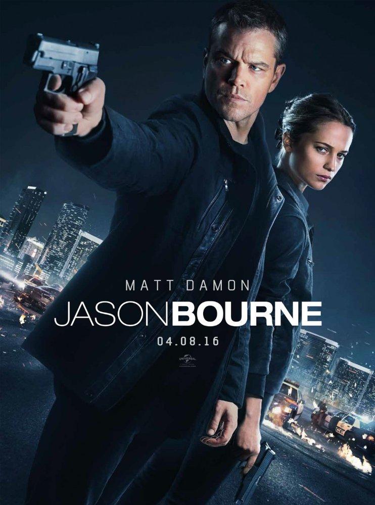 Siêu Điệp Viên 5 Bourne 5: Jason Bourne.Diễn Viên: Matt Damon,Tommy Lee Jones,Alicia Vikander