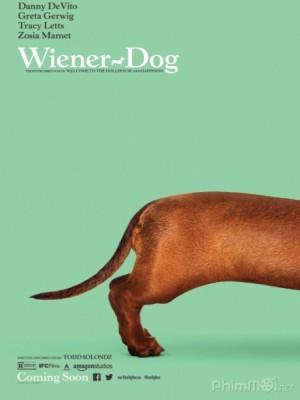 Chú Chó May Mắn Wiener-Dog.Diễn Viên: Greta Gerwig,Keaton Nigel Cooke,Tracy Letts