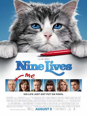 Bố Tôi Là Mèo Nine Lives.Diễn Viên: Kevin Spacey,Jennifer Garner,Robbie Amell