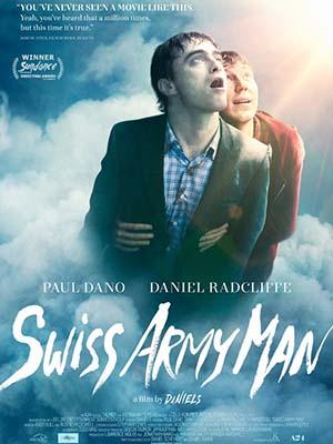 Xác Chết Biết Nói Swiss Army Man.Diễn Viên: Paul Dano,Daniel Radcliffe,Mary Elizabeth Winstead