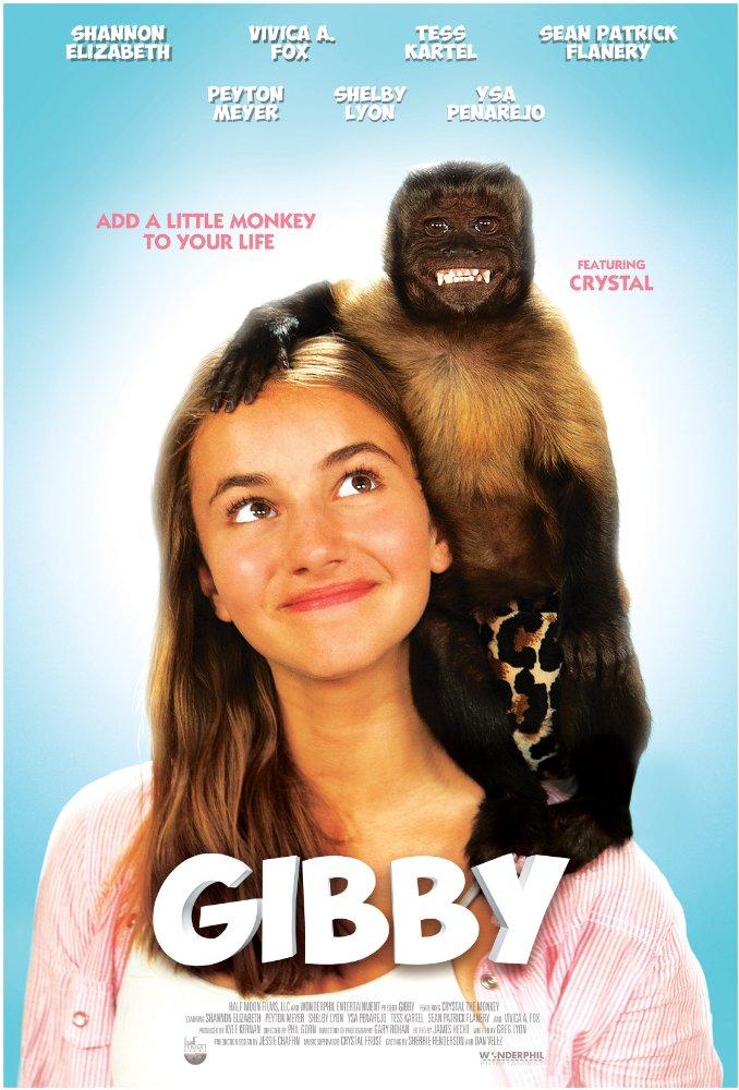 Chú Khỉ Lắm Chiêu Gibby.Diễn Viên: Crystal The Monkey,Shannon Elizabeth,Peyton Meyer