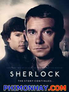 Sherlock Trở Lại Phần 3 Sherlock Season 3.Diễn Viên: Benedict Cumberbatch,Martin Freeman,Una Stubbs,Rupert Graves,Louise Brealey