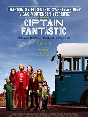 Thuyền Trưởng Tuyệt Vời Captain Fantastic.Diễn Viên: Viggo Mortensen,George Mackay,Samantha Isler