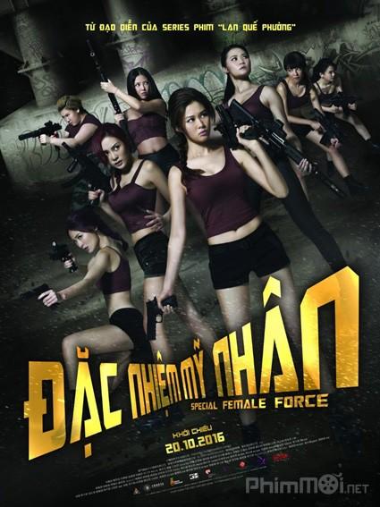 Đặc Nhiệm Mỹ Nhân Special Female Force.Diễn Viên: Sola Aoi,Juno Mak,Siu Hou Chin