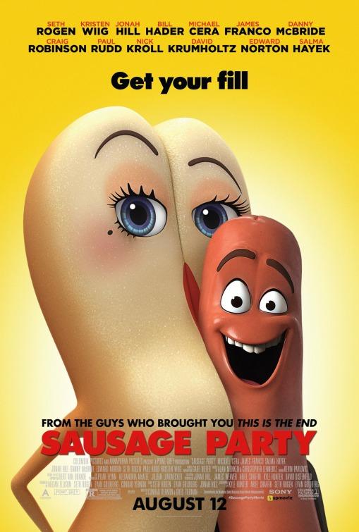 Đại Tiệc Xúc Xích Sausage Party.Diễn Viên: Seth Rogen,Kristen Wiig,Jonah Hill